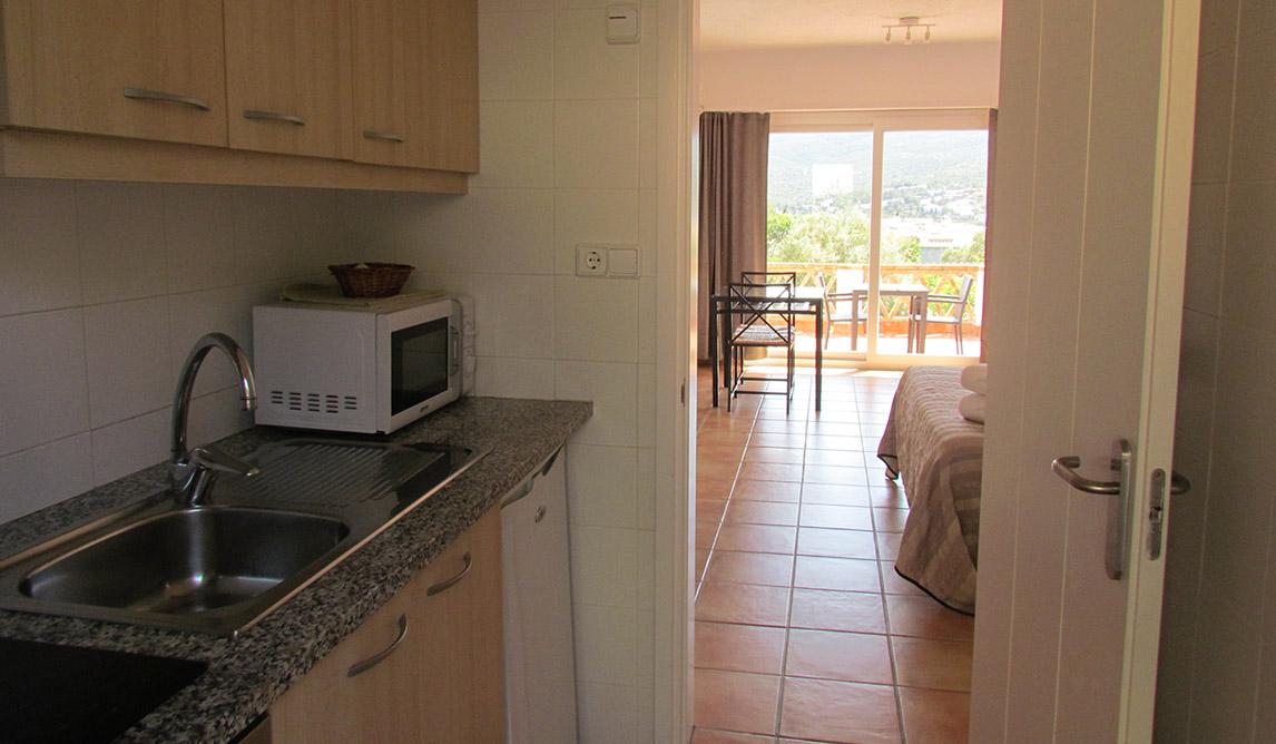 Apartament per a 2 persones amb cuina